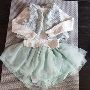 Size 2T toddler girls outfit
